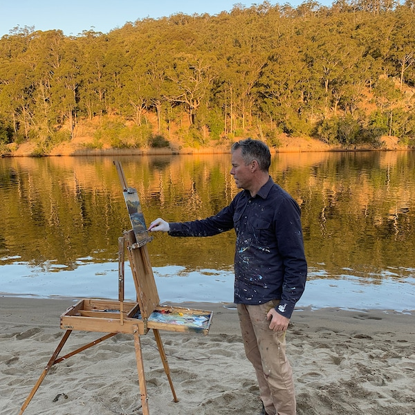 Ashley Frost tutor painting en plein air