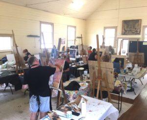 painting class at art class Sydney