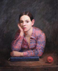 Portrait of Rose by Matilda Mitchell